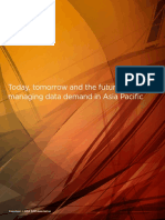 Today, tomorrow and the future -managing data demand in Asia Pacific
