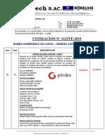 BOMBA DE LODOS GRINDEX - SANDY