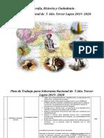 Geografía historia y ciudadanía - Soberanía Nacional de  5 Año  3°