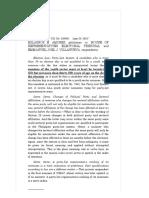 Amores vs. House of Representatives Electoral Tribunal