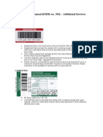 Postal Training (DMM)