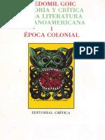 Cedomil Goic - Historia y crítica de la literatura hispanoamericana, 1. Época colonial-Editorial Crítica (1988).pdf