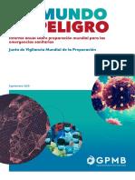 GPMB Annual Report Spanish