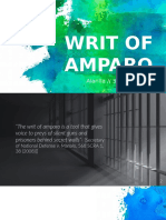 Writ of Amparo report.pptx