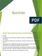 Nutrientes y sus características