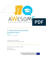 HL7 AWESOME_1st Joint Industry Workshop scientific report