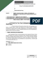 CARTA A MUNICIPALIDAD -INFORME TECNICO LEGAL