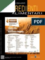 Food Design- Ingredienti Alimentari - Gennaio-Febbraio 2018
