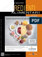 Food Design- Ingredienti Alimentari - Maggio-Giugno 2018