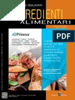 Food Design- Ingredienti Alimentari - Novembre-Dicembre 2018