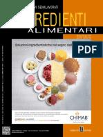 Food Design - Ingredienti Alimentari - Maggio-Giugno 2019