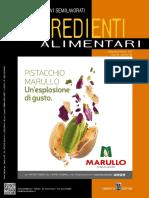 Food Design - Ingredienti Alimentari - Settembre-Ottobre 2019