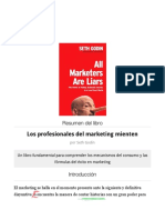 Resumen del libro 'Los profesionales del marketing mienten'