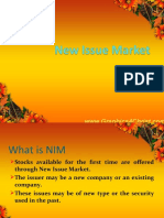 New Issue Market Ppt