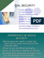 Social Security....