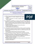 Guía Ejercicios Propuestos Unidad I