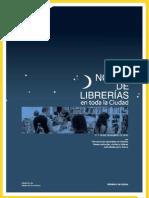 Programa Noche de las librerias 2010