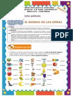 español 1 el abecedario