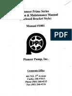 Bomba Pioner - Manual