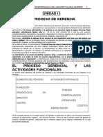 PROCESO  DE GERENCIA