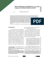 Deslocamento, Formação e Legitimação Uma Análise de Programas de Residência Artística no Brasil