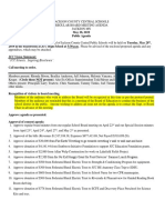 JCC Board May 28 Agenda