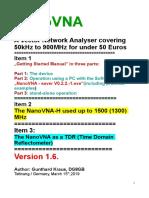 English NanoVNA V1.6. Final