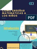 Como enseñar matemáticas a los niños.pdf