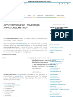 Advertising Budget - Objectives, Approaches, Methods - BBA_mantra.pdf