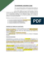 DERECHO ROMANO-CLASE 2 p