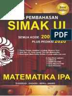 Spoiler Buku Matematika IPA SIMAK UI 2009-2019.pdf