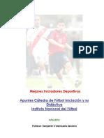 Apuntes Cátedra de Fútbol y su Didáctica