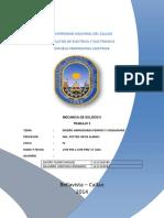 TRABAJO DE SOLIDOS 2 DISEÑO DE ARMADURAS Y PERNOS SOLDADURAS