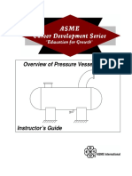 Overview of Pressure Vessel Design