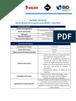 Informe PM Coaching 2019 - SHE LINE - Victor Mendoza