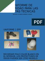 UNIFORME DE SEGURIDAD PARA LAS VISITAS TECNICAS.pptx
