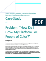 Developing More Entrepreneurs of Color Case-Study