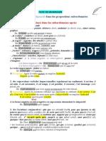 Le subjonctif-emploi et exercices