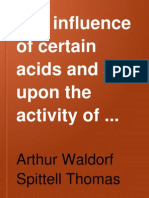 The Influence of Certain Acids and Salts (Reduced)