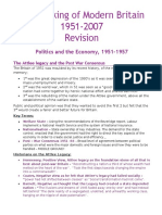 The Making of Modern Britain 1951 - 2007 EXAM REVISION.docx