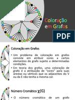 Coloração em Grafos