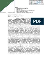 Resolución que declara improcedente la medida cautelar solicitada a favor del señor Aragón (4.10.2017)