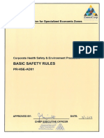 PR HSE AD01_Basic Safety Rules