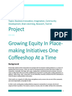 Growing Equity In Place-Making Initiatives One Coffeeshop At A Time