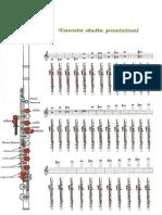 336379972 Tavola Delle Posizioni Del Flauto Traverso PDF