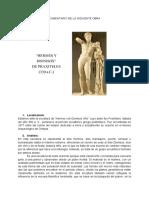 Analisis escultura grecia