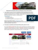 INSTRUCTIVO PARA DOCENTES PLATAFORMA TUAULA
