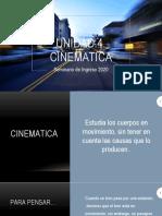 Unidad 4 Cinematica