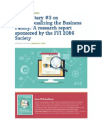 Professionalizing the Business Family a Research Report Sponsored by the Ffi