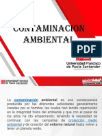 CLASES DE CONTAMINACIÓN AMBIENTAL